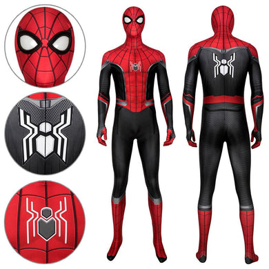 Spider-Man Peter Parker The Upgraded Suit Spider-Man: Far From Home Cosplay Costume - Free Shipping