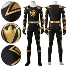 Load image into Gallery viewer, Power Rangers Dino Thunder Black Dino Ranger Cosplay Costume