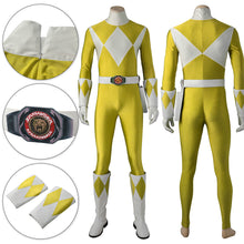 Load image into Gallery viewer, Mighty Morphin Power Rangers Yellow Ranger Cosplay Costume
