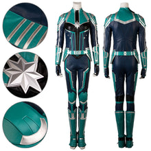 Load image into Gallery viewer, Carol Danvers Green Cosplay Costume