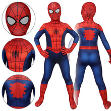 Load image into Gallery viewer, Kids Spider-Man Peter Parker Ultimate Spider-Man Season1 Jumpsuit Cosplay Costume - Free Shipping