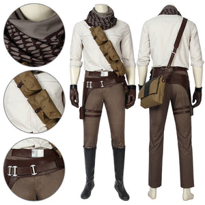 Poe Dameron Star Wars 9 The Rise of Skywalker Cosplay Costume