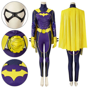 Batgirl Barbara PS5 Batman Gotham Knight Gordon Cosplay Costume