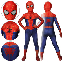 Load image into Gallery viewer, Kids Spider-Man Peter Parker Spider-Man: Into the Spider-Verse Jumpsuit Cosplay Costume - Free Shipping