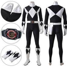Load image into Gallery viewer, Mighty Morphin Power Rangers Black Ranger Cosplay Costume