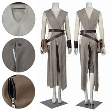 Load image into Gallery viewer, Rey Star Wars 7 The Force Awakens Cosplay Costume