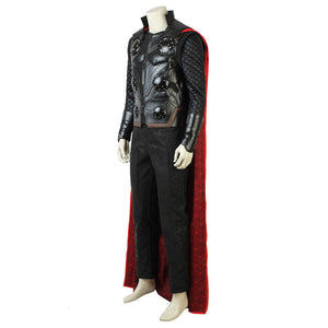 Thor Odinson Avengers 3: Infinity War Cosplay Costume - Only Red cape
