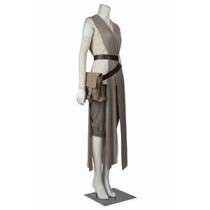 Rey Star Wars 7 The Force Awakens Cosplay Costume