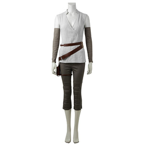 Rey Star Wars 8 The Last Jedi Cosplay Costume
