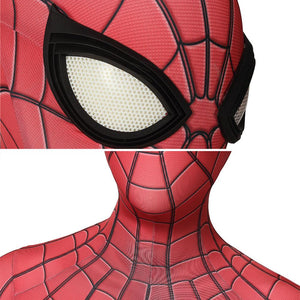 Spider-Man Peter Parker Upgraded Suit Spider-Man: Far From Home Jumpsuit Cosplay Costume - Free Shipping