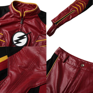Jesse Quick The Flash 3 Female Speedster Cosplay Costume