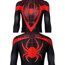 Load image into Gallery viewer, Spider-Man Miles Morales Ultimate Spider-Man Miles Morales Jumpsuit Cosplay Costume - Free Shipping