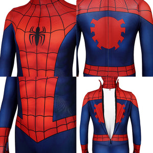 Kids Spider-Man Peter Parker Ultimate Spider-Man Season1 Jumpsuit Cosplay Costume - Free Shipping