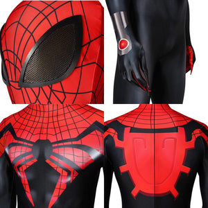Superior Spider-Man Otto Octavius Peter Parker Superior Spider-Man Jumpsuit Cosplay Costume - Free Shipping