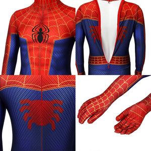 Kids Spider-Man Peter Parker Spider-Man: Into the Spider-Verse Jumpsuit Cosplay Costume - Free Shipping