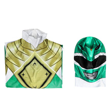 Load image into Gallery viewer, Mighty Morphin Power Rangers Green Ranger Zentai Jumpsuit Cosplay Costume - Free Shipping