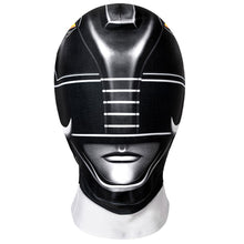 Load image into Gallery viewer, Kids Power Rangers Black Ranger Zentai Jumpsuit Cosplay Costume