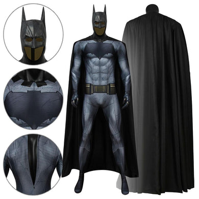 Batman Bruce Wayne DC Batman VS Superman: Dawn of Justice Jumpsuit Cosplay Costume - Free Shipping