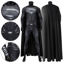 Load image into Gallery viewer, Superman Clark Kent DC Justice League Jumpsuit Cosplay Costume - Free Shipping