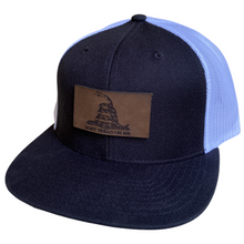 Load image into Gallery viewer, Gadsden Flag Leather Patch Hat