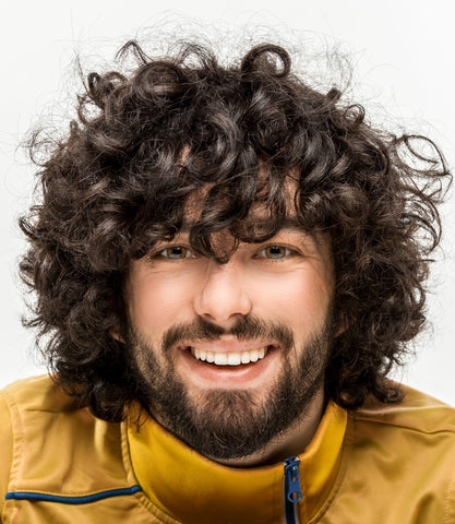 Curly men's hairstyles for any occasion