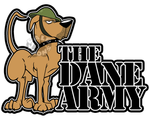 Dane Army vinyl decal