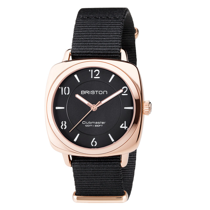 BRISTON CLUBMASTER CHIC ROSE GOLD PVD