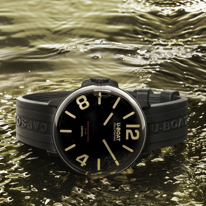 Uboat Capsoil DLC Black - The Independent Collective Watches