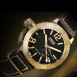 Uboat Doppio Tempo: Bronzo Brown