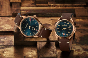 MeisterSinger Bronze Line : Metris - The Independent Collective Watches