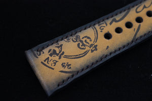 Vintage Latin Carving by Tunx - The Independent Collective Watches