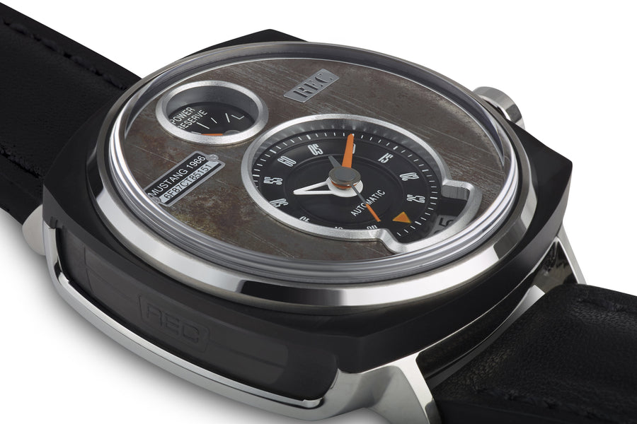 REC WATCHES P51/01 Made from a Ford Mustang - The Independent Collective Watches