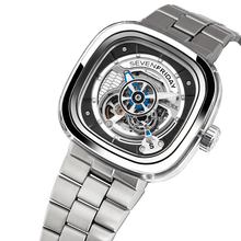 Load image into Gallery viewer, SEVENFRIDAY S1/01M: CRYSTAL CLEAR - METAL UPGRADE