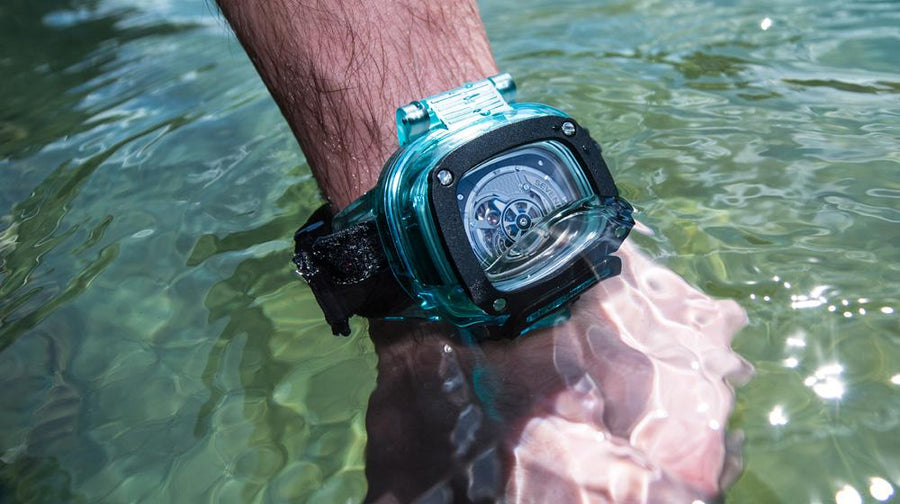 HDB2 BLUE LAGOON - The Independent Collective Watches