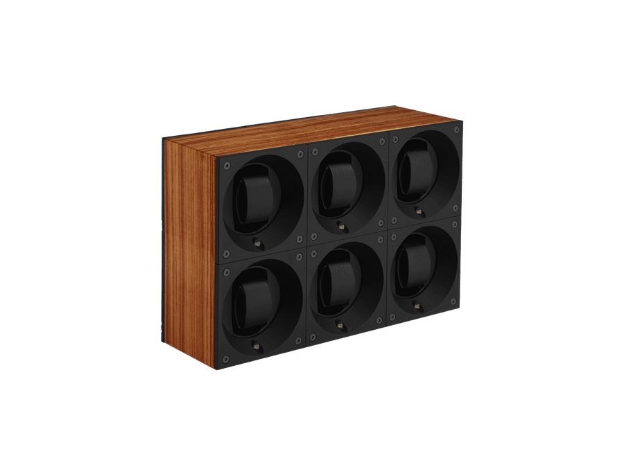 MASTERBOX 6 POSITIONS WOOD w/WINDOW