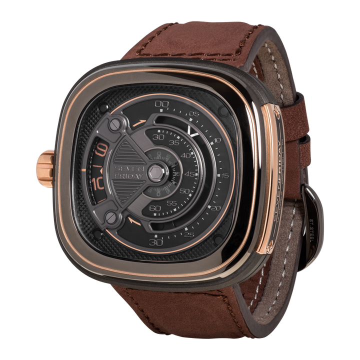 SEVENFRIDAY M2B/01: INDUSTRIAL LUXE