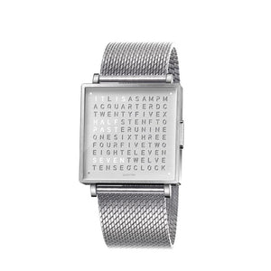 Qlocktwo Watch : Time In Words for your wrist. - The Independent Collective Watches