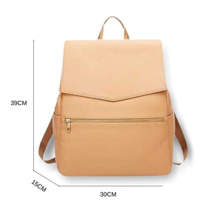 Dimensions of tan backpack changing bag