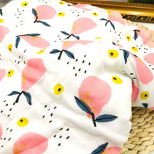 Load image into Gallery viewer, Pear Bamboo Baby Blanket