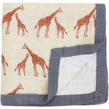 Load image into Gallery viewer, Giraffe Baby Blanket