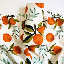 Load image into Gallery viewer, Extra Large Muslin In Oranges Print