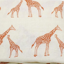 Load image into Gallery viewer, Extra Large Muslin In Giraffe Print