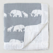 Load image into Gallery viewer, Elephant Baby Blanket