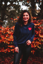 Load image into Gallery viewer, GRL PWR Hoodie in Navy