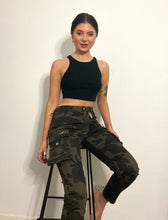 Load image into Gallery viewer, 'Camo Girl' trousers with pockets