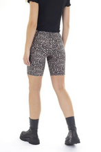 Load image into Gallery viewer, 'Rah' leopard-print cycling shorts, beige