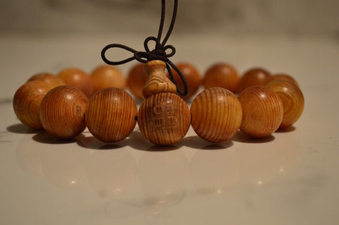 Taxus natural wood bracelet
