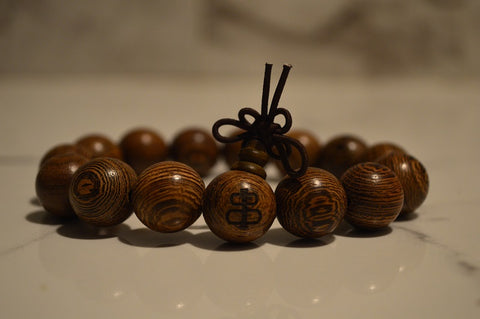Real natural wood bracelet