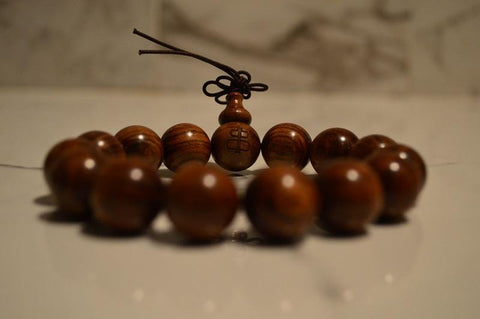 A beautiful real sandalwood bracelet
