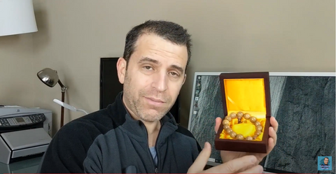 Video review of our monk bracelet click to watch